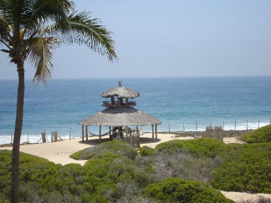 Villa Santa Cruz: palapa view