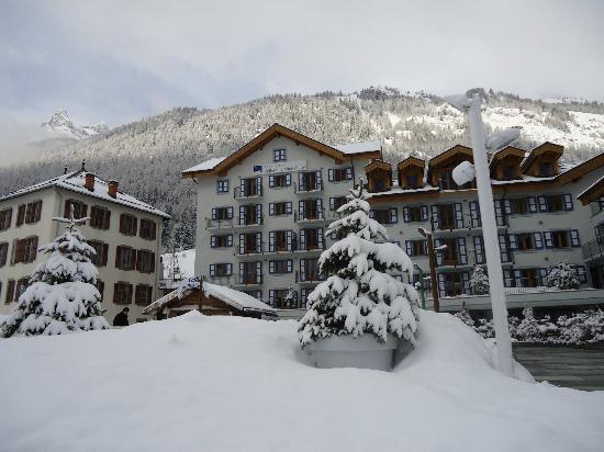Residence & Spa Vallorcine Mont Blanc: Un environnement exceptionnel 