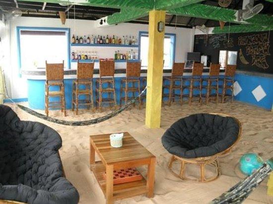 Top Banana Beach Bar: Hammocks and Beach Vibe