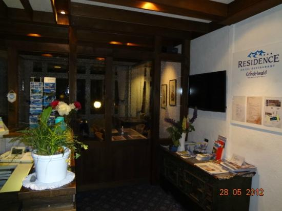 Residence Hotel Restaurant: Reception Area