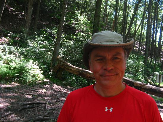 Deerfield Health Retreat and Spa: Fearless Hike Leader (This is NOT on the property)