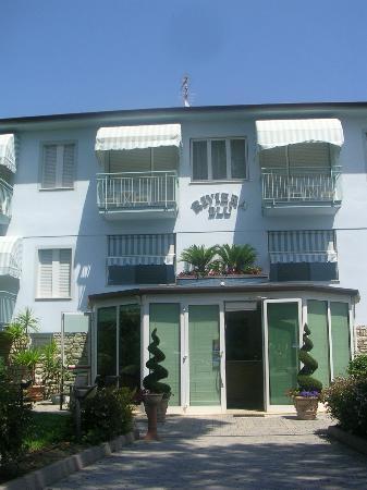 Hotel Riviera Blu: La bellissima facciata dell'Hotel