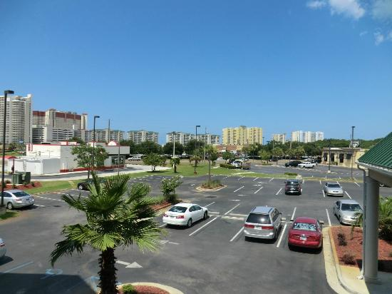 Country Inn & Suites By Carlson, Panama City Beach: vista dal terrazzo