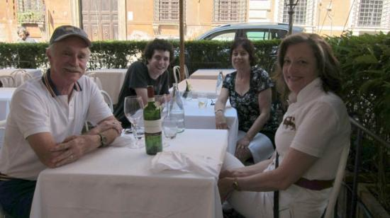 Vecchia Roma: With new-found friends from our former hometown