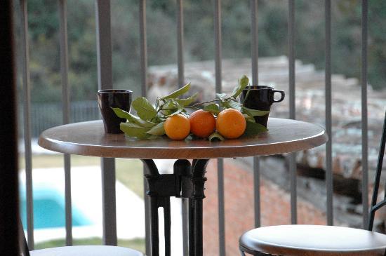 La Posada de San Marcos: Relax with some tea!