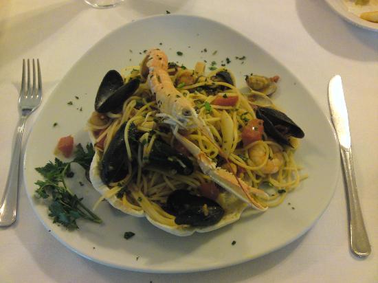 Don Camillo: Spaghetti all scoglio
