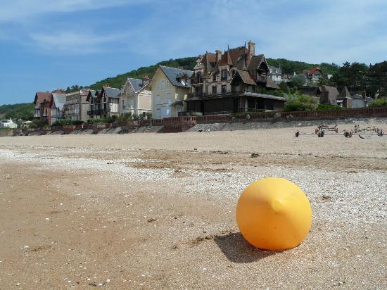 Hotel de la Plage : view from the seaside