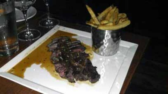 Oakleaf Restaurant Hanger Steak & Frites