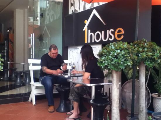 โรงแรมไอเฮาส์นิว: iHouse Sitting area
