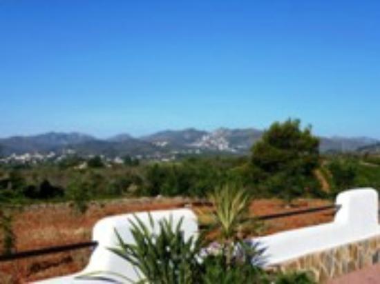 Finca Montgo: View from Los Establos Apartment & Guest Room