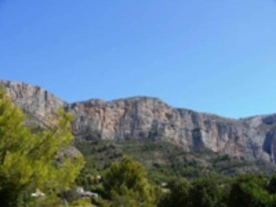 Finca Montgo: View from Finca Apartment