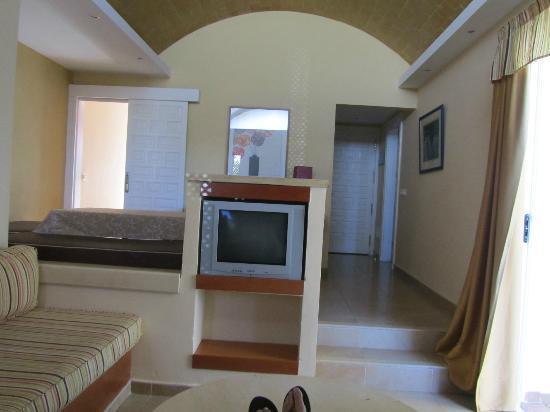 Biarritz Apartments: tv