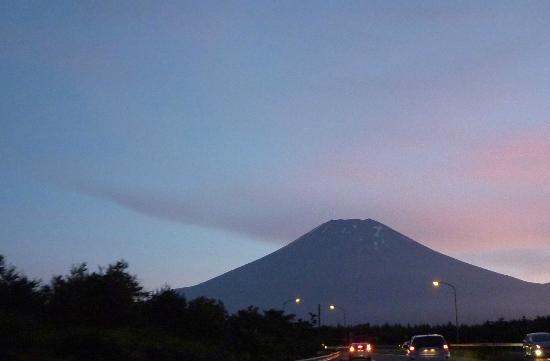 Mount Fuji : Coucher de soleil
