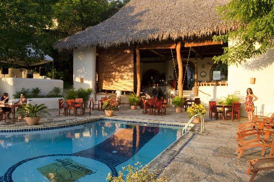 Pelican Eyes Resort & Spa: Good morning at La Cascada Restaurant