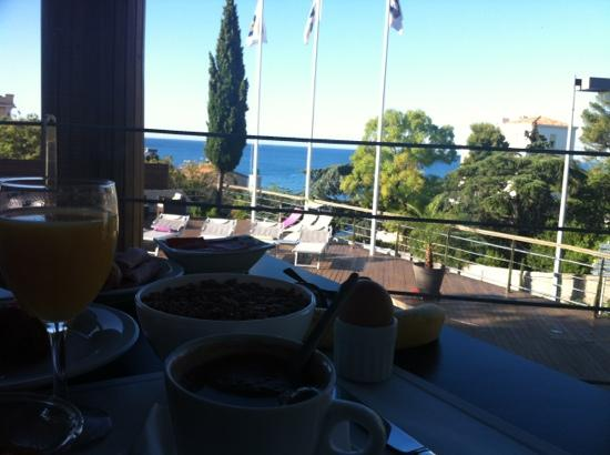 Best Western Hotel La Rade: PDJ avec cette vue!