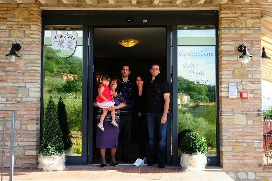 Agriturismo Colle degli Olivi: la famiglia Tardioli