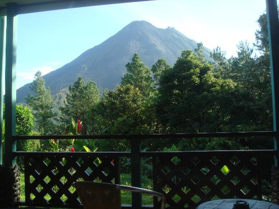 Arenal Observatory Lodge & Spa : Arenal view from the balcony