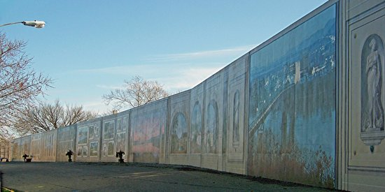 Charming Portsmouth Floodwall Mural Part 11