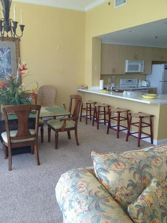 Sterling Beach: THe kitchen area
