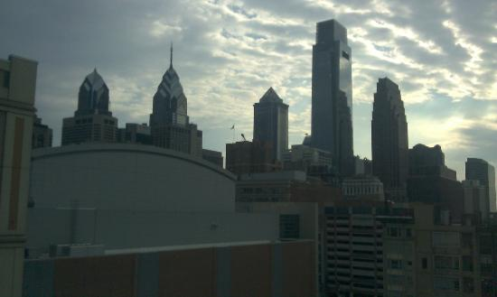 Hampton Inn Philadelphia Center City - Convention Center: view from our window