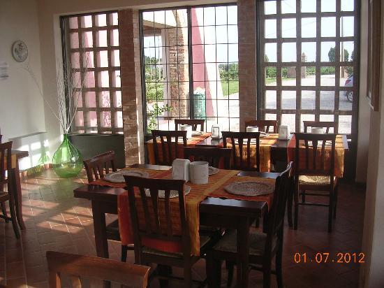 B&B Bosco del Gal : sala colazione