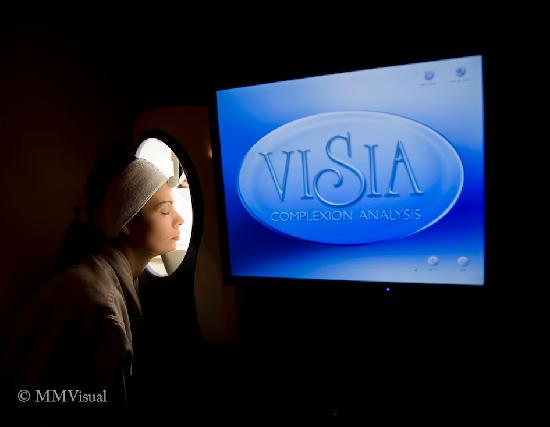 Avie Spa: Our signature facial will include a deep skin analyze with the powerful VISIA machine