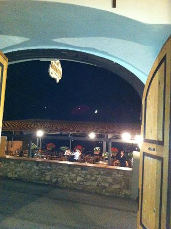 ingresso verso la terrazza - Foto di Trattoria La Gargotta, Bagno a ...