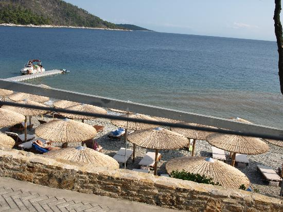 Adrina Resort & Spa: the private beach