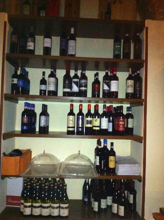 Trattoria La Gargotta : un pò di vini