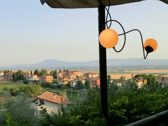 Piccola Trattoria Guastini: the view from your table on the terrace