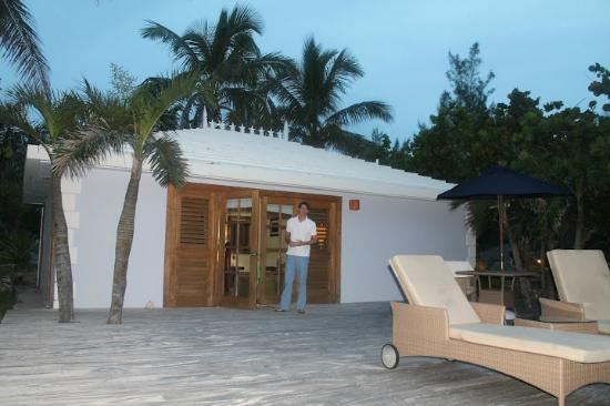 Pink Sands Resort: Our cottage, Long Cay