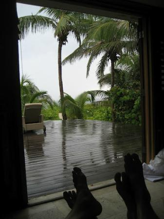 Pink Sands Resort: On a rainy day, still lovely
