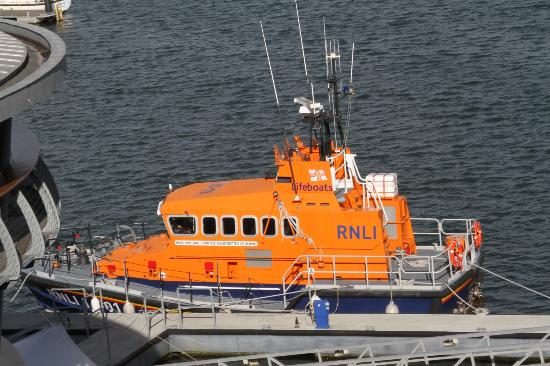 RNLI College: Fourth floor room view