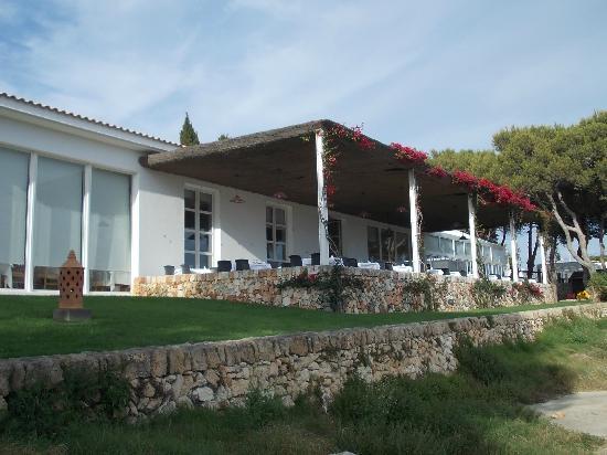 Prinsotel La Caleta : Terraza del buffet