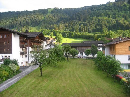 Hotel Schneeberger: View from Balcony