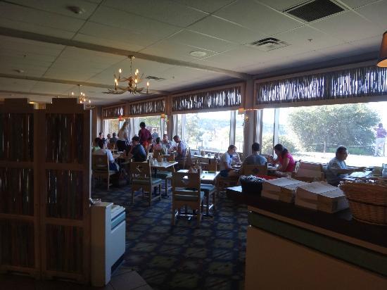 Arizona Room: Full length window in restaurant