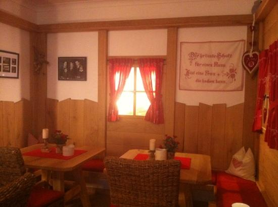 Garni Patzleiner: sala da tè