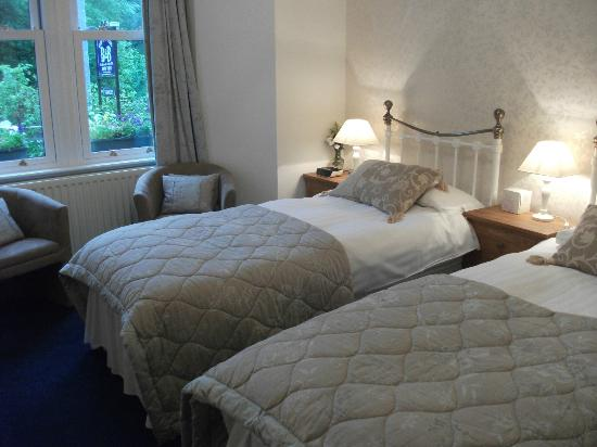Bod Gwynedd Bed & Breakfast: Room1 . Twin setup or Superking. Ground floor. One of two twin rooms available.