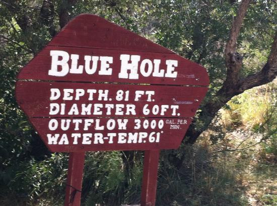 Blue Hole: Sign
