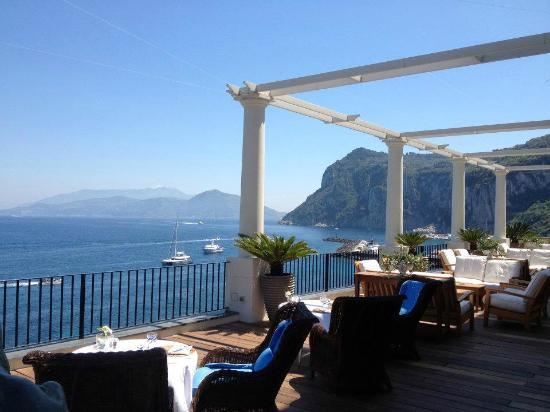 J.K.Place Capri: Terrazza hotel