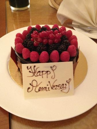 Mandarin Oriental, München: Our Special Occasion Cake- Courtesy Of Management
