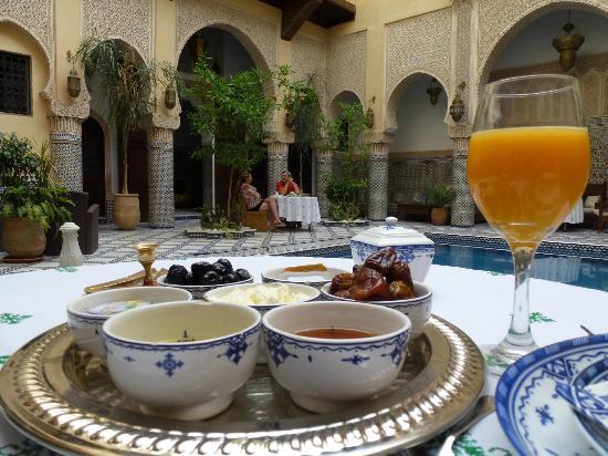Riad Salam Fes: Breakfast