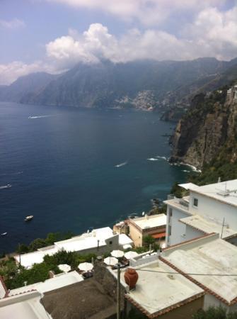 Hotel Smeraldo: Il panorama dal balcone...