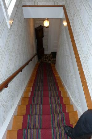 Francis Costigan House: Dual front and back stairway