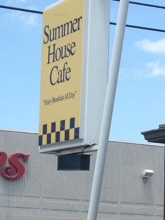 The Summer House Cafe: The Sign
