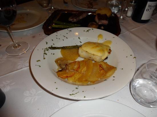 El Bosc: Cod fish with aioli