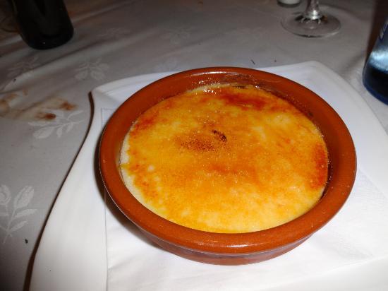 El Bosc: Best cream catalan ever
