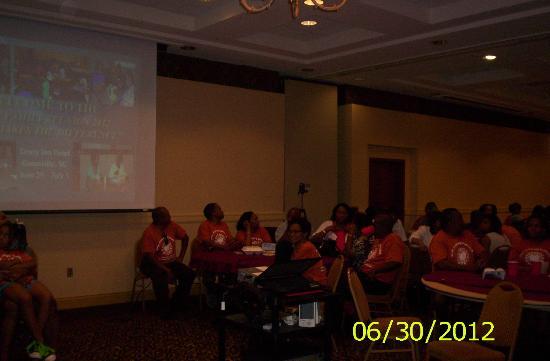 Drury Inn & Suites Greenville: Family Gathering in the Meeting Room