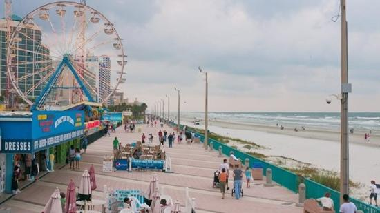 Daytona Beach Boardwalk And Pier My Favorite