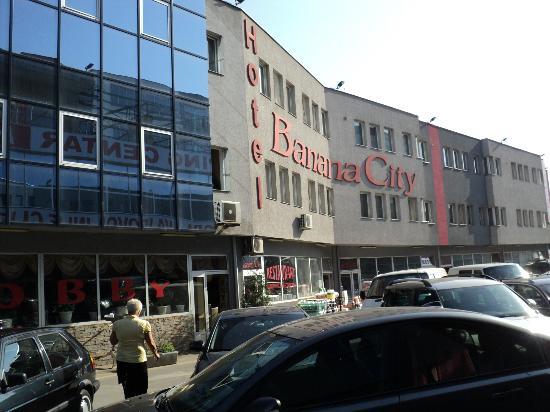 Front Of Hotel Picture Of Banana City Hotel Sarajevo Tripadvisor